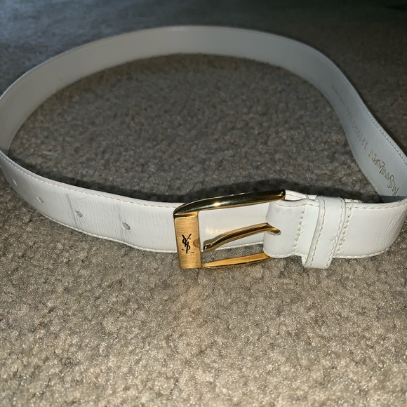 3cd5108f10 YSL Yves saint laurent leather belt